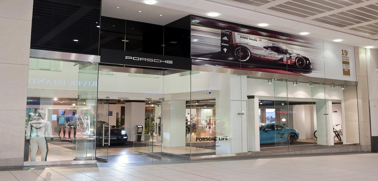 Porsche Pop-up Experience