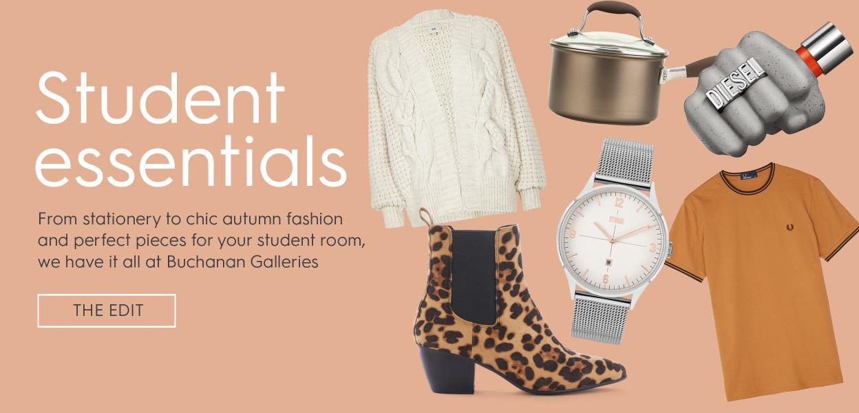 student clothing and homewares