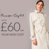 Phase Eight money off coat offer.