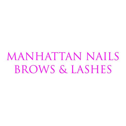 Manhattan Nails, Brows & Lashes logo