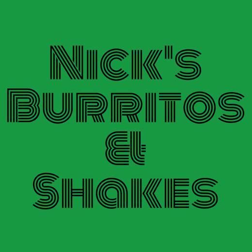 Nick's Burritos & Shakes logo