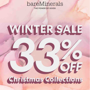 bareMinerals christmas collections sale