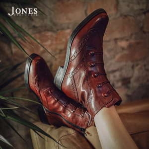 Jones Bootmaker new lines for January. Image of Louise style boot.