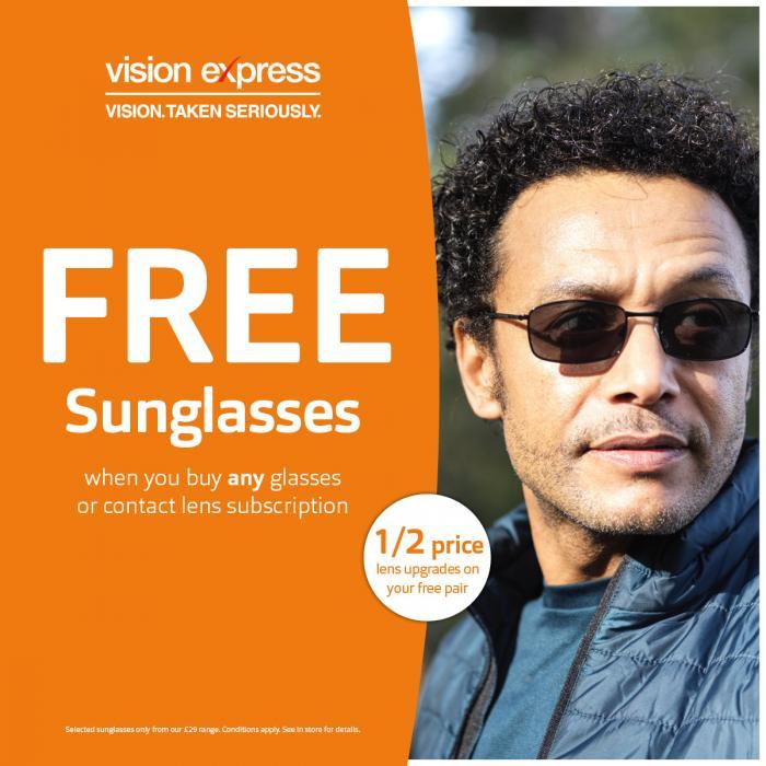 Vision Express Buchanan Galleries Sunglasses