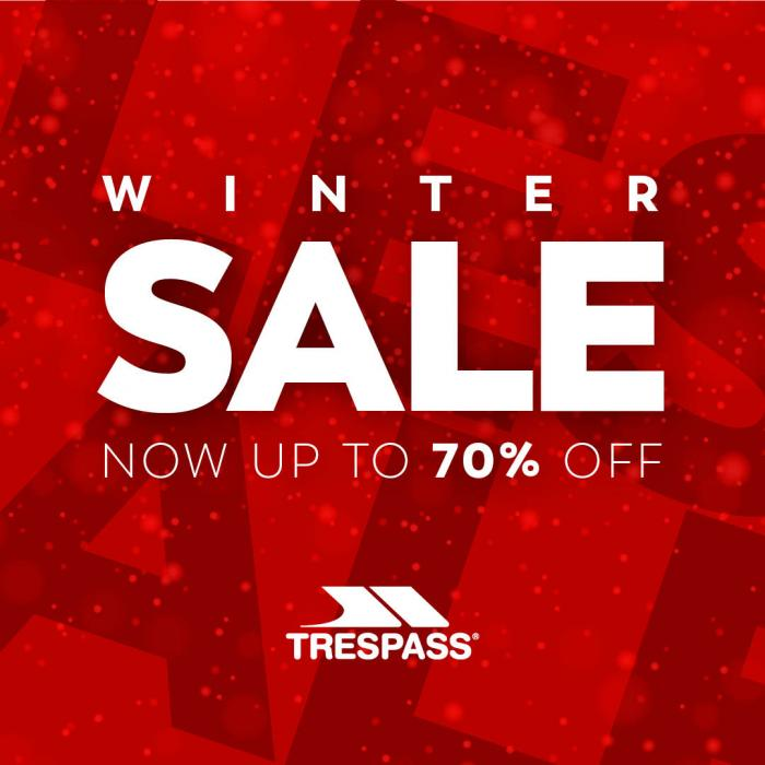 Trespass up to 70% off sale