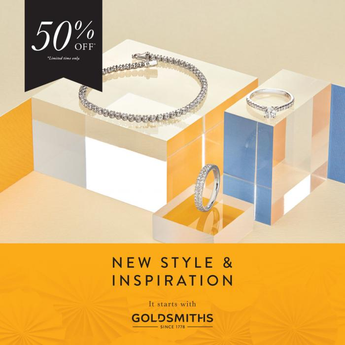 Goldsmiths new style and inspiration up to 50% off