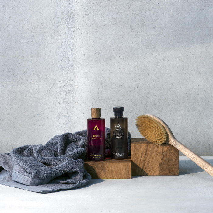 Free bath and shower gel with £40 or more spend at Arran