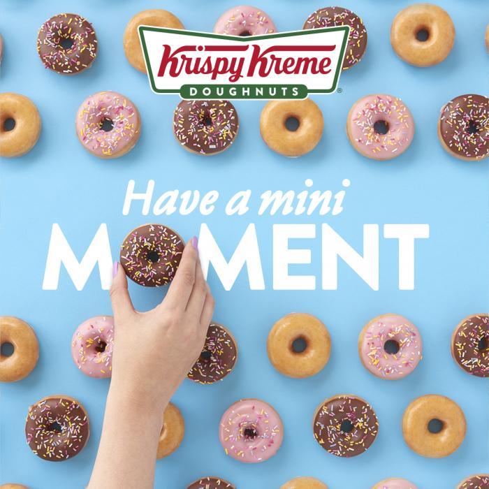 krispy kreme mini moment doughnuts