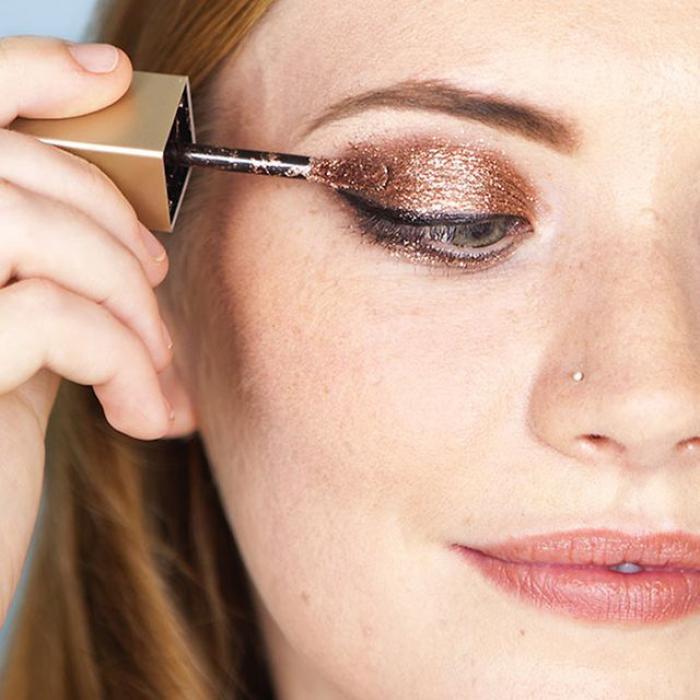 Festive make-up ideas