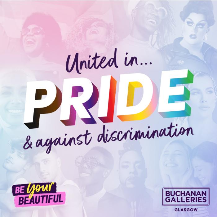 Pride at Buchanan Galleries