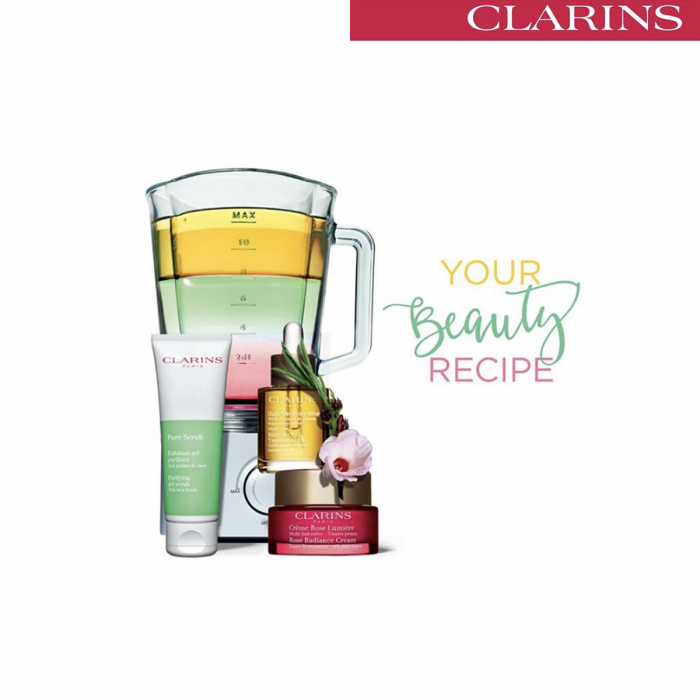 Clarins beauty party at John Lewis and Partners