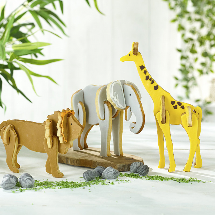 Lakeland go wild cookie cutters, animal biscuits