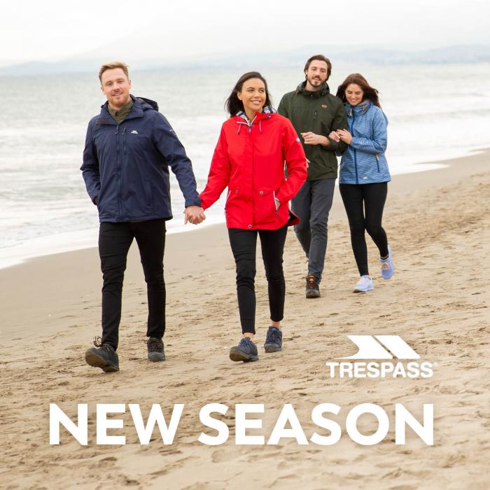 Trepass clothing new season promo spring summer 2020