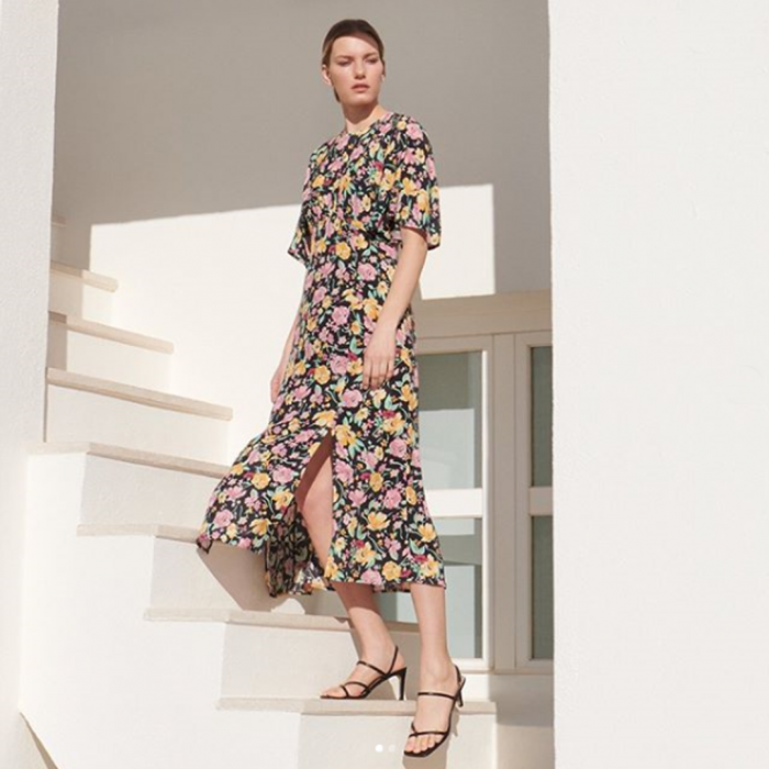 warehouse floral dress john lewis and partners buchanan galleries