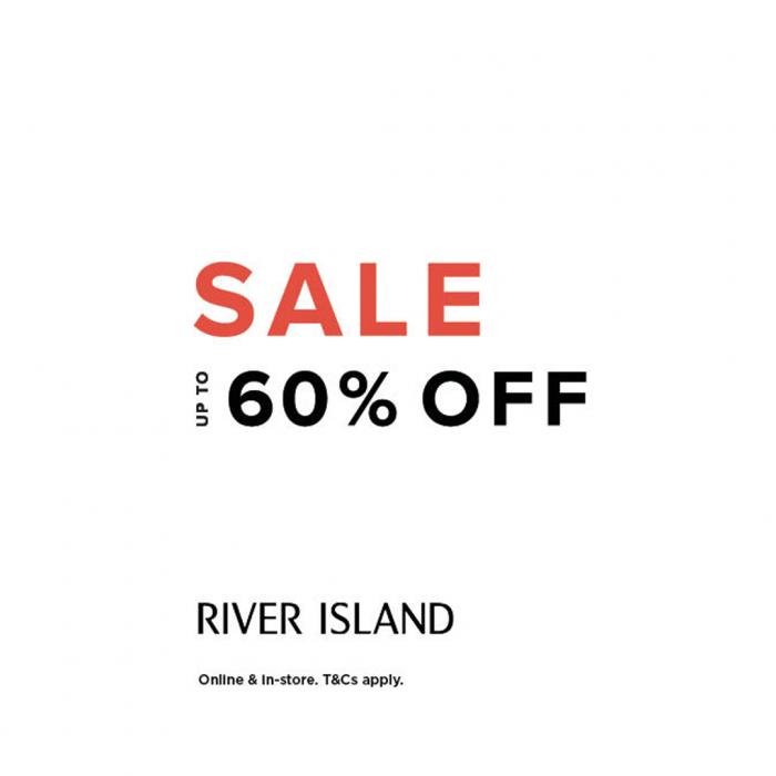 River Island mid season sale buchanan galleries
