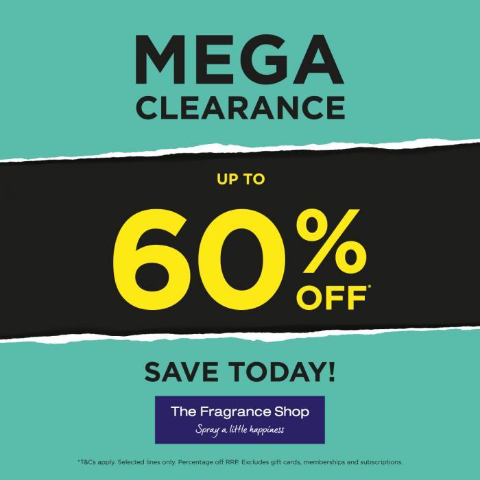 The Fragrance Shop mega clearance
