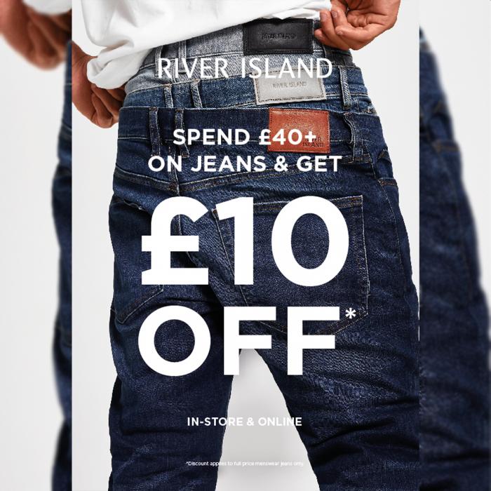 River Island denim jeans offer