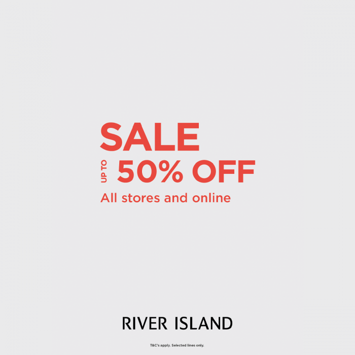 River Island sale graphic