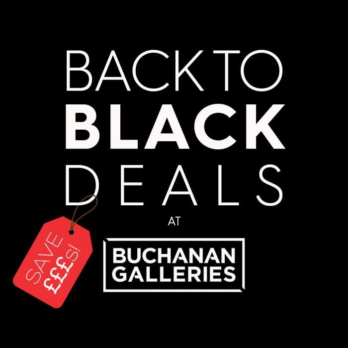 Black Friday Cybe Monday Buchanan Galleries Glasgow