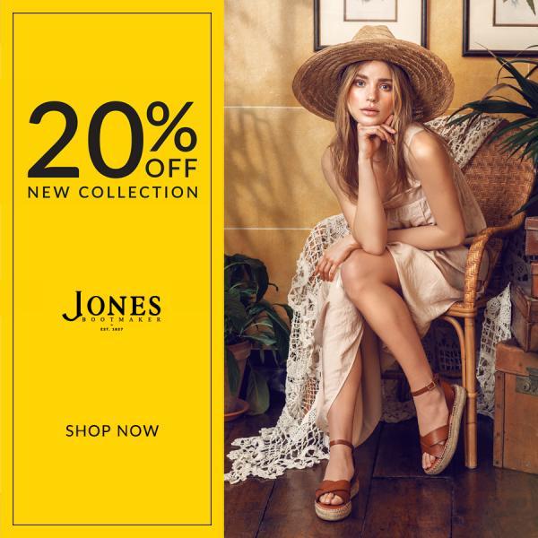 20% off at Jones Bootmakers