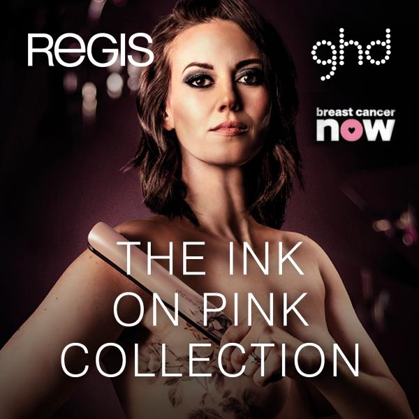 GHD Ink on Pink Regis