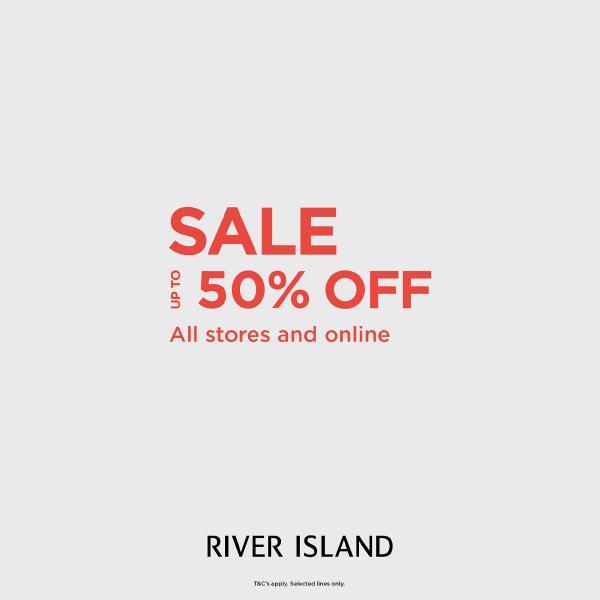 River Island sale graphic