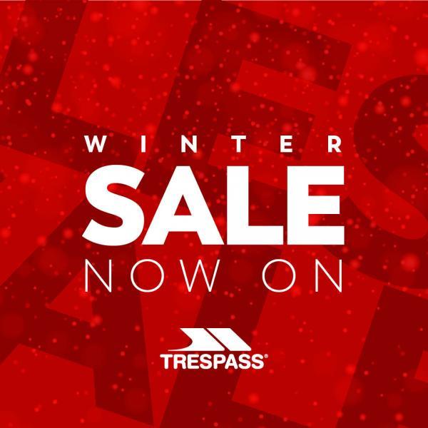 Trespass winter sale at Buchanan Galleries