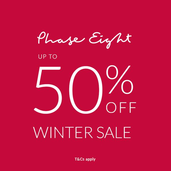Phase Eight winter sale up to 50% off Buchanan Galleries Glasgow